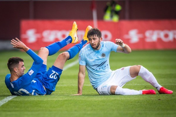 Loss in Riga derby
