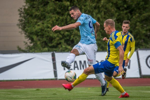 "Milosevic and Mbombo scores, ""Riga"" wins"