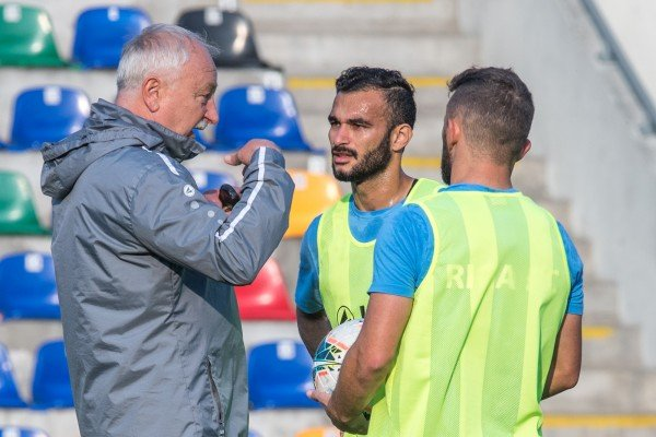 """Press conference and training before the game against """"Tre Fiori"""""""
