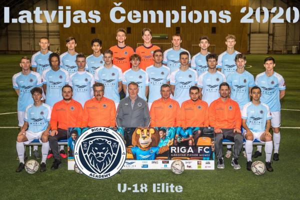 Riga Academy U18 Champions 2020