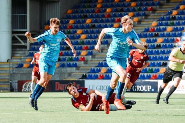 Arturs Krancmanis U18 player - Best Midfielder Elite Group Championship 2020