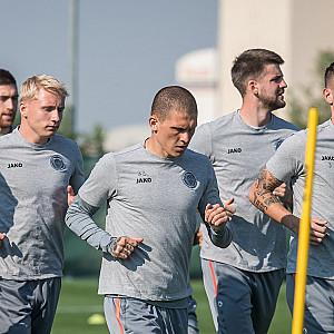 "Tomorrow in Dubai ""Riga"" against ""Zenit""!"