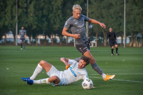 """0:4 pret Sanktpēterburgas """"Zenit"""""""