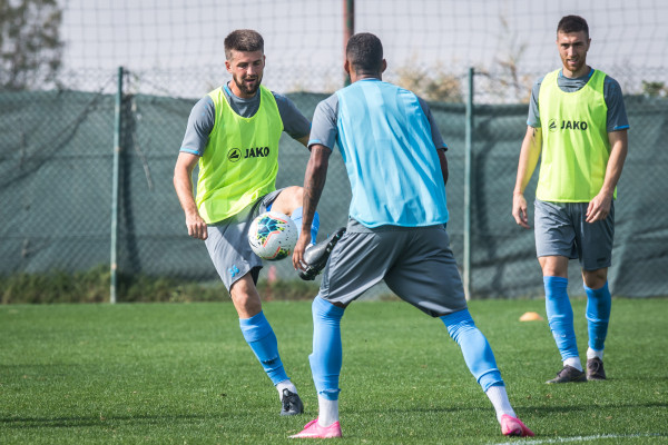 "Tommorow in second friendly game ""Riga"" will meet ""Krasnodar"""
