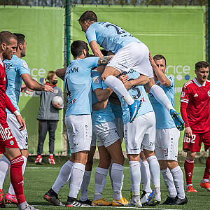 "Milošević and Soisalo scores two goals against ""Liepaja"""