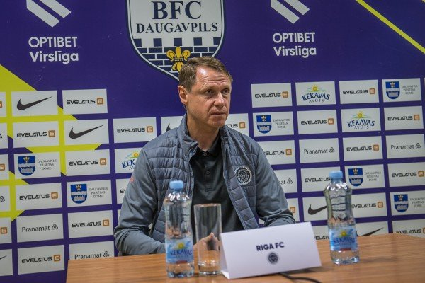 BFC Daugavpils - Riga FC. Press conference, / 11.08