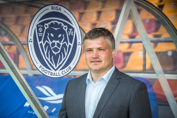 "Par ""Riga Football Club"" galveno treneri apstiprināts Andris Riherts"