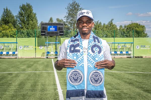 """Muritala uz īres tiesībām pievienojas """"Riga Football Club"""""""