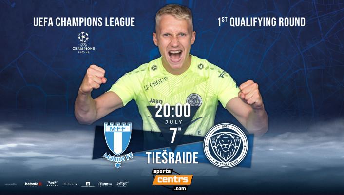 """""""Malmö FF"""" pret """"Riga"""" - tiešraide Sportacentrs.com TV"""