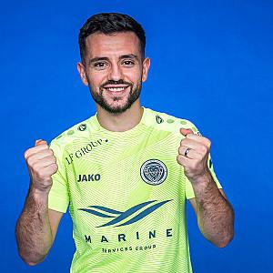 "Besars Halimi! ""Riga Football Club"" spēlētājs!"