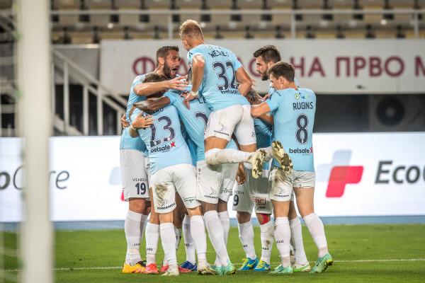 """""""Riga"""" uzvar arī Skopjē un iekļūst nākamajā kārtā"""