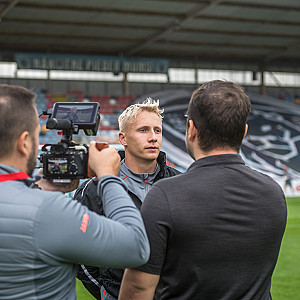 Shots from the training and interview with Mikael Soisalo