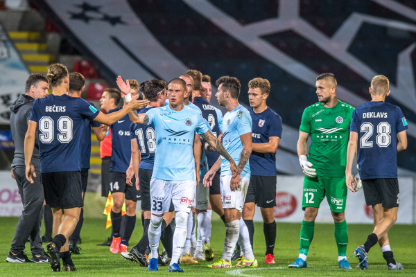 Three goals against Jelgava and a place in the Latvian Cup semi-final