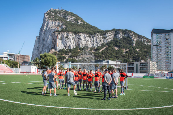 In Gibraltar battle for a place in the Conference League group stage